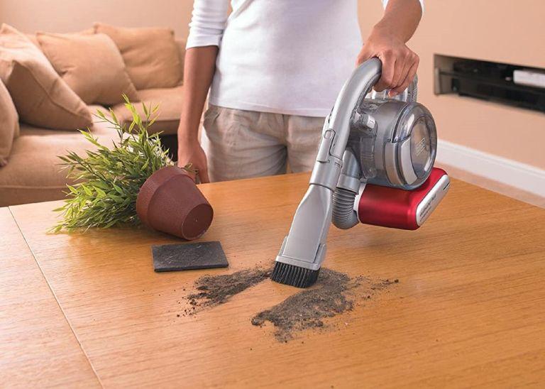 best handheld vacuum: Black & Decker PD1820LGB Flexi Cordless Handheld Vacuum