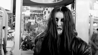 A shot of Morbid in full corpse paint