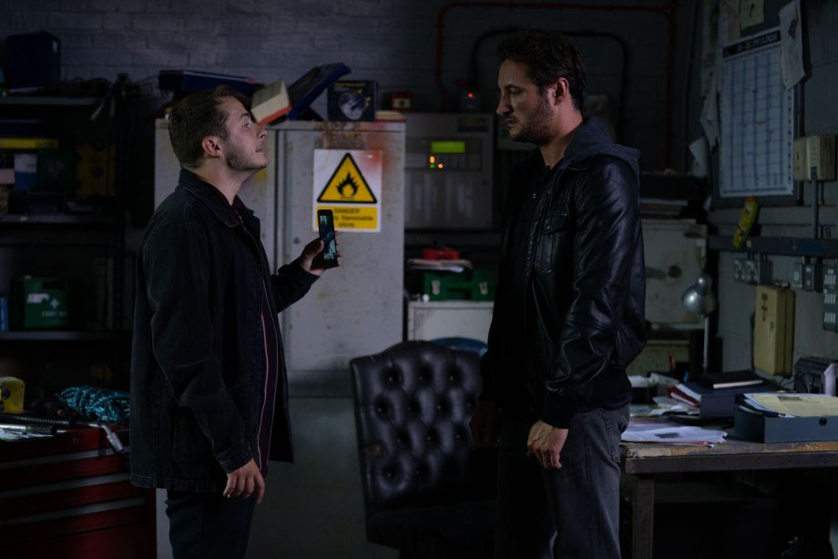 EastEnders Ben Mitchell and Martin Fowler clash