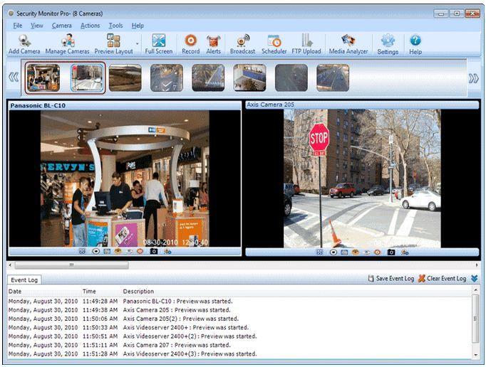 Security Monitor Pro - PC-Based Home Security: Do It Yourself