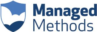 Managed Methods blue and white logo