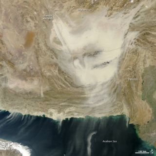 dust storm Afghanistan Pakistan