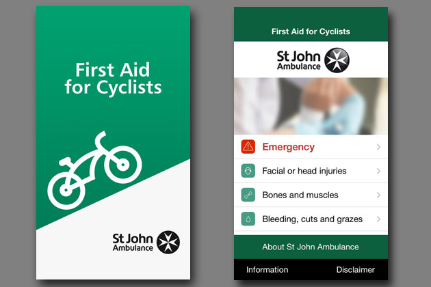 St Johns Ambulance first aid app