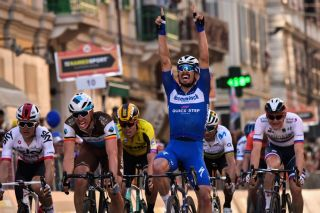 Deceuninck-QuickStep's Julian Alaphilippe wins the 2019 Milan-San Remo. Will the 2020 edition move from early August to later in the month?