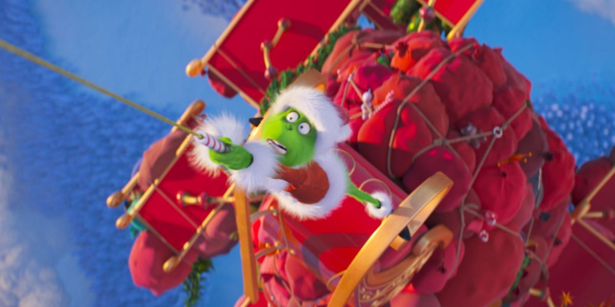 Benedict Cumberbatch steals Christmas in The Grinch