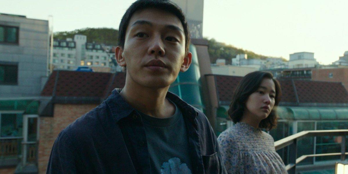 Yoo Ah-in and Jeon Jong-seo in Burning