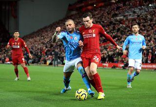 Liverpool v Manchester City – Premier League – Anfield