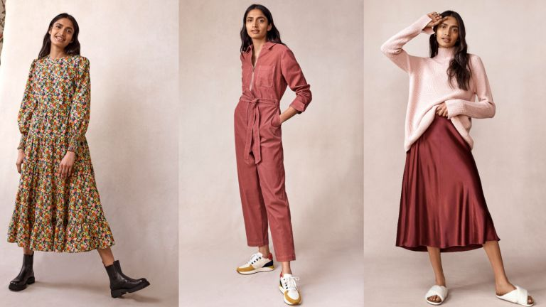 British Clothing Brands Model wearing Boden