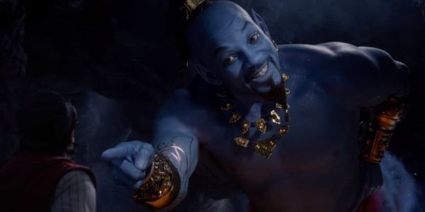 Will Smith's Genie is hiding a few musical talents