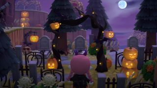 Animal Crossing: New Horizons Halloween pumpkins