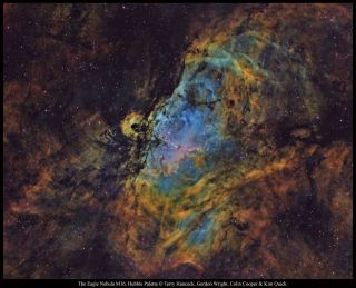 Eagle Nebula by Hancock and Others