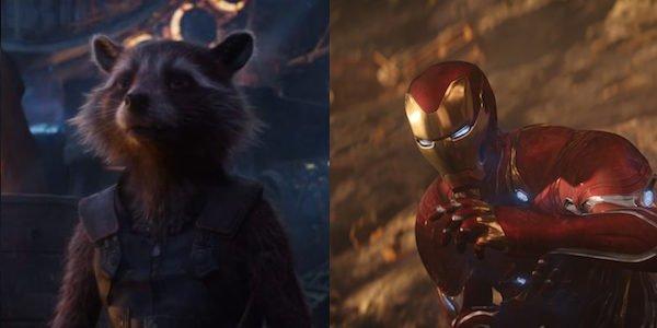 Rocket Raccoon and Iron Man