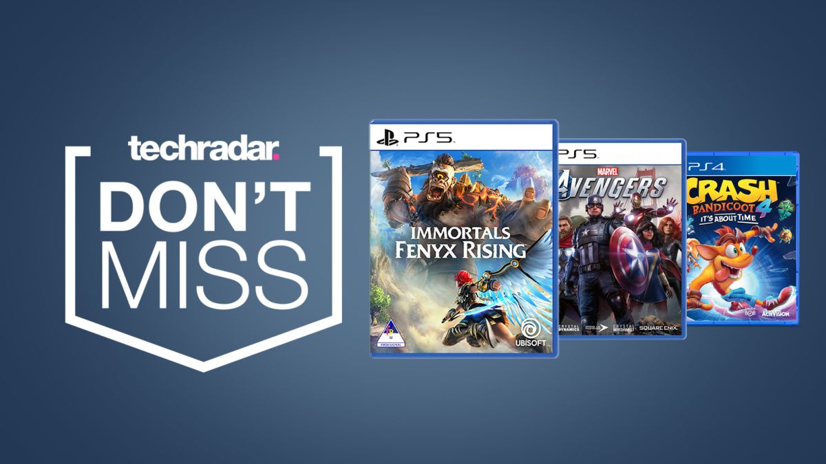 PS5 games start at just $9.99 in this weekend's Best Buy sale