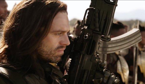 Bucky Barnes The Winter Soldier Infinity War