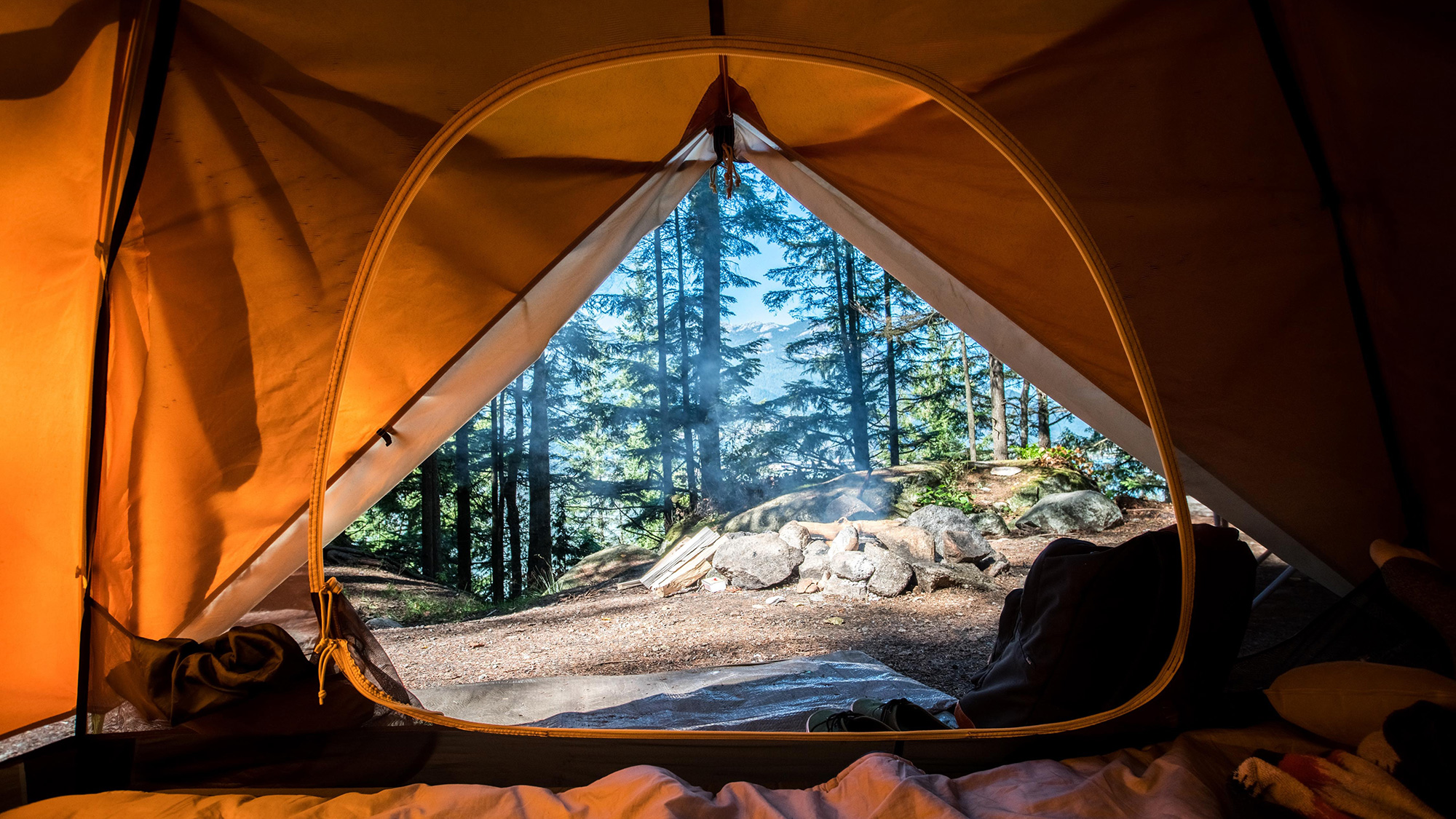 alternatives to tent camping in BC