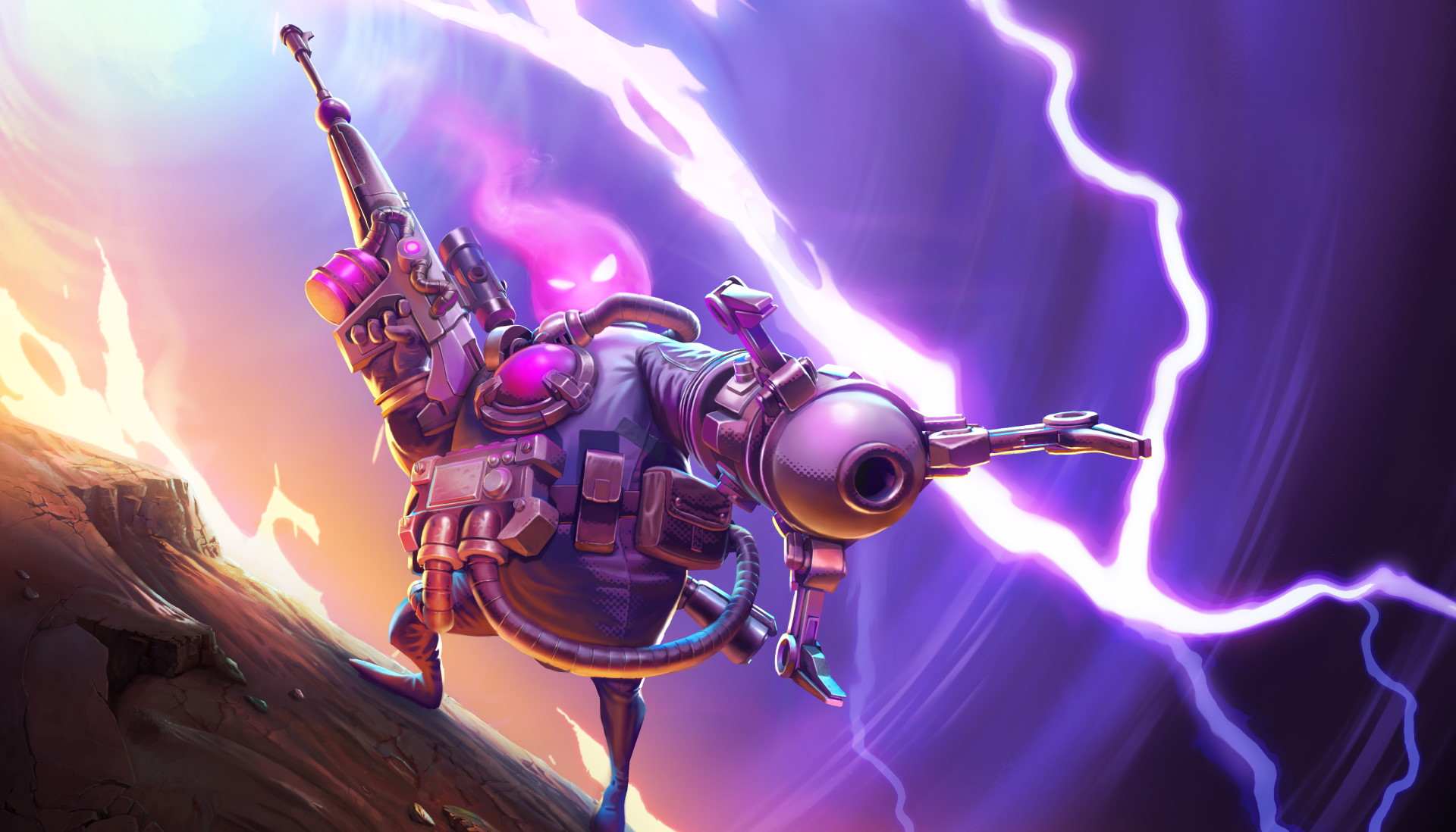 Drifters Loot the Galaxy is a high-mobility hero shooter in open beta on Steam