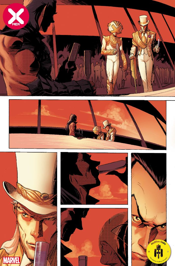 page from X-Men #21