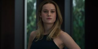 Brie Larson as Carol Danvers in Avengers: Endgame