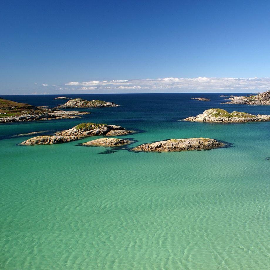 Beaches in UK: Fidden Beach, Isle of Mull, Scotland