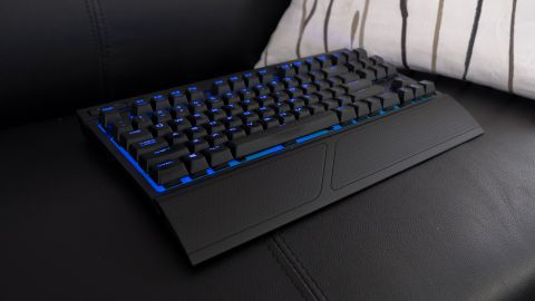 135e13a1e84 Corsair K63 Wireless review. The ultimate portable wireless keyboard for  couch gaming