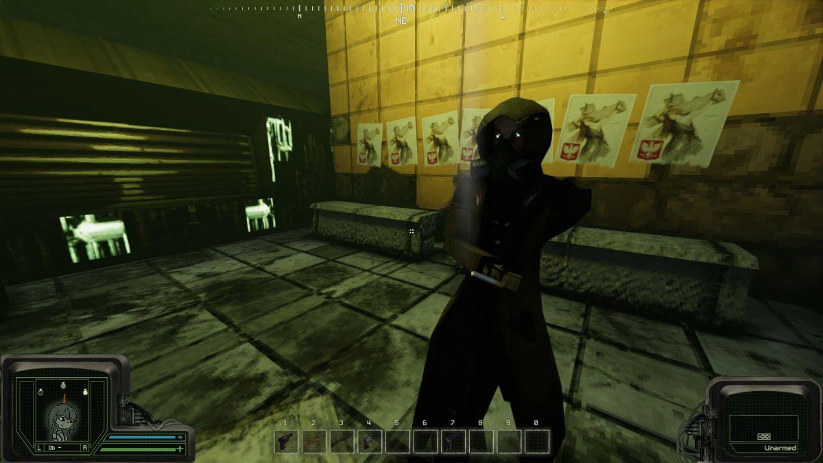 Peripeteia is an immersive sim where you play 'living military surplus' in near-future Poland
