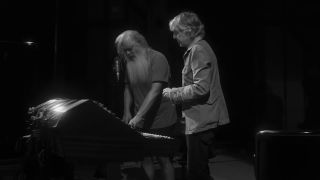 Paul McCartney and Rick Rubin