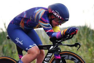 Lisa Klein wins time trial at Baloise Ladies Tour