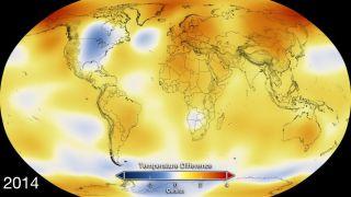 2014 Temperature Anomalies