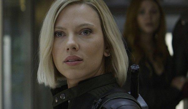Black Widow with Blonde hair
