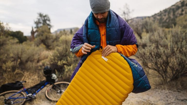 best camping mat: Thermarest camping pad