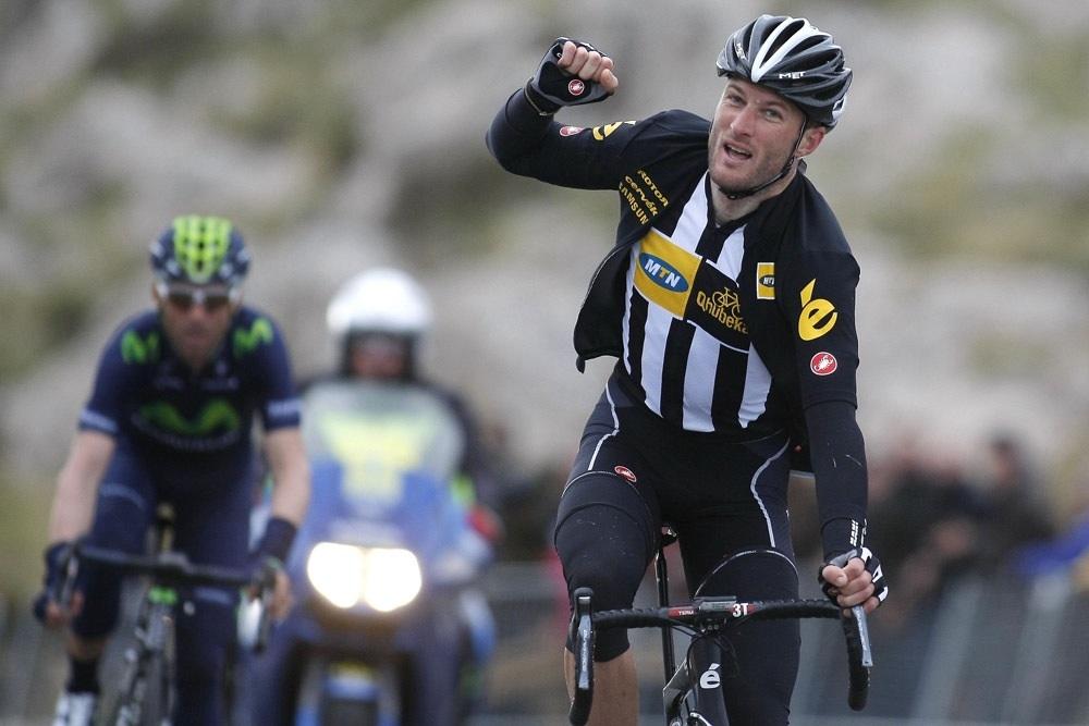 Photo: Steve Cummings wins the 2015 Trofeo Andratx (Watson).