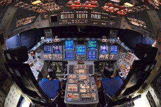 Last Look Inside Space Shuttle Atlantis