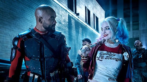 Will Smith and Margot Robbie in Squad 2