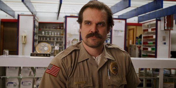 Hopper in Stranger Things 3