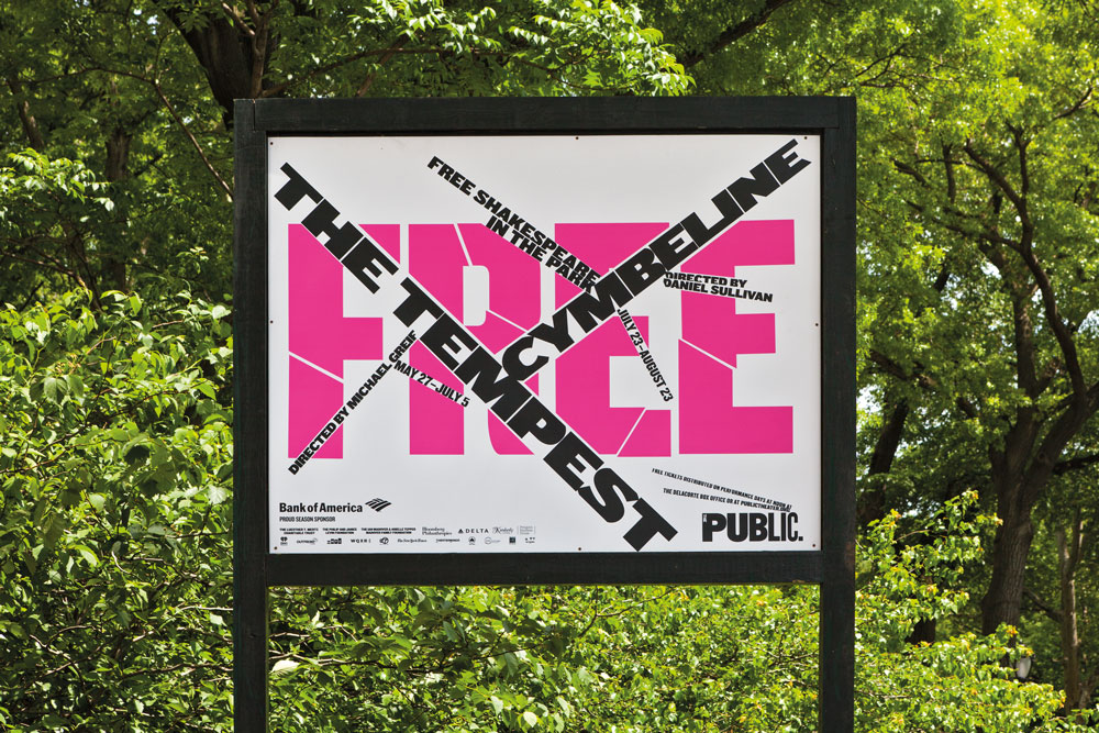 Brand typography: The Public