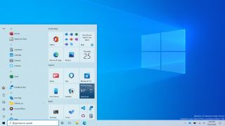 Windows 10 Start menu herwerking
