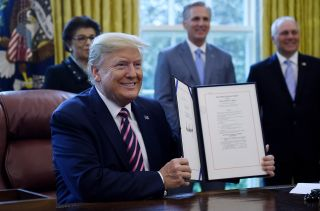Donald Trump stimulus check