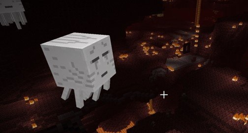 The creepy lava-filled underworld of The Nether