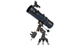 Celestron's AstroMaster 130EQ Newtonian Telescope is on sale for Prime Day.