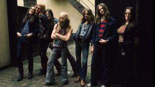 Hawkwind in December 1972
