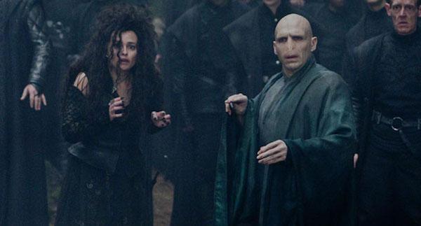 Voldemort and Bellatrix