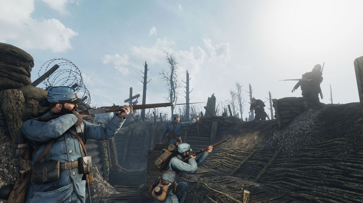 WW1 shooter Verdun gets new map, mode and weapons in free update