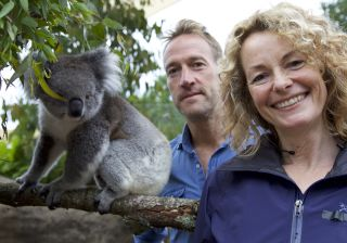 Ben Fogle and Kate Humble in Animal Park