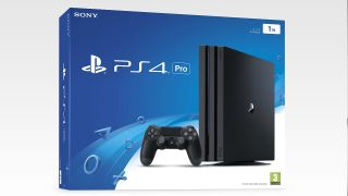 The PS4 Pro box