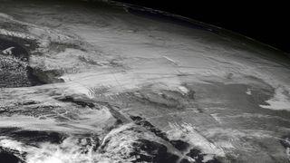 Winter storm over US on Dec. 3, 2013