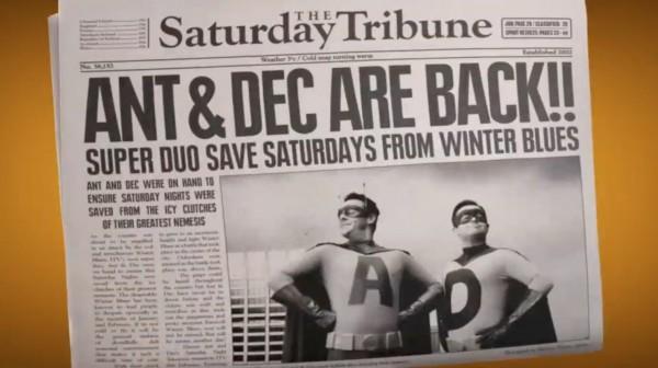 Ant and Dec Saturday Night Takeaway