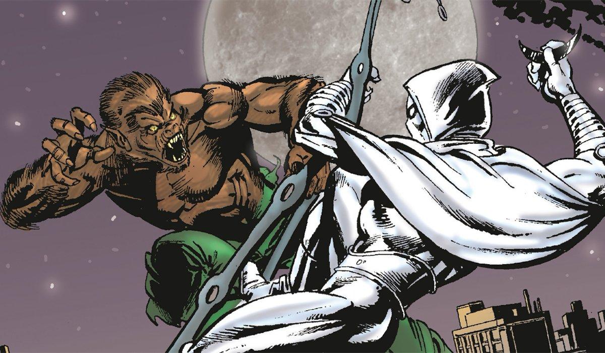 Werewolf by Night Moon Knight comic book