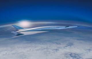 Boeing unveiled a new hypersonic passenger plane concept at the AIAA Aviation Forum 2018 in Atlanta on June 26, 2018. The plane could have military or commercial uses, Boeing says.