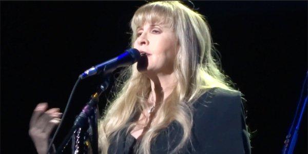Stevie Nicks and Fleetwood Mac 2018 tour video screenshot.