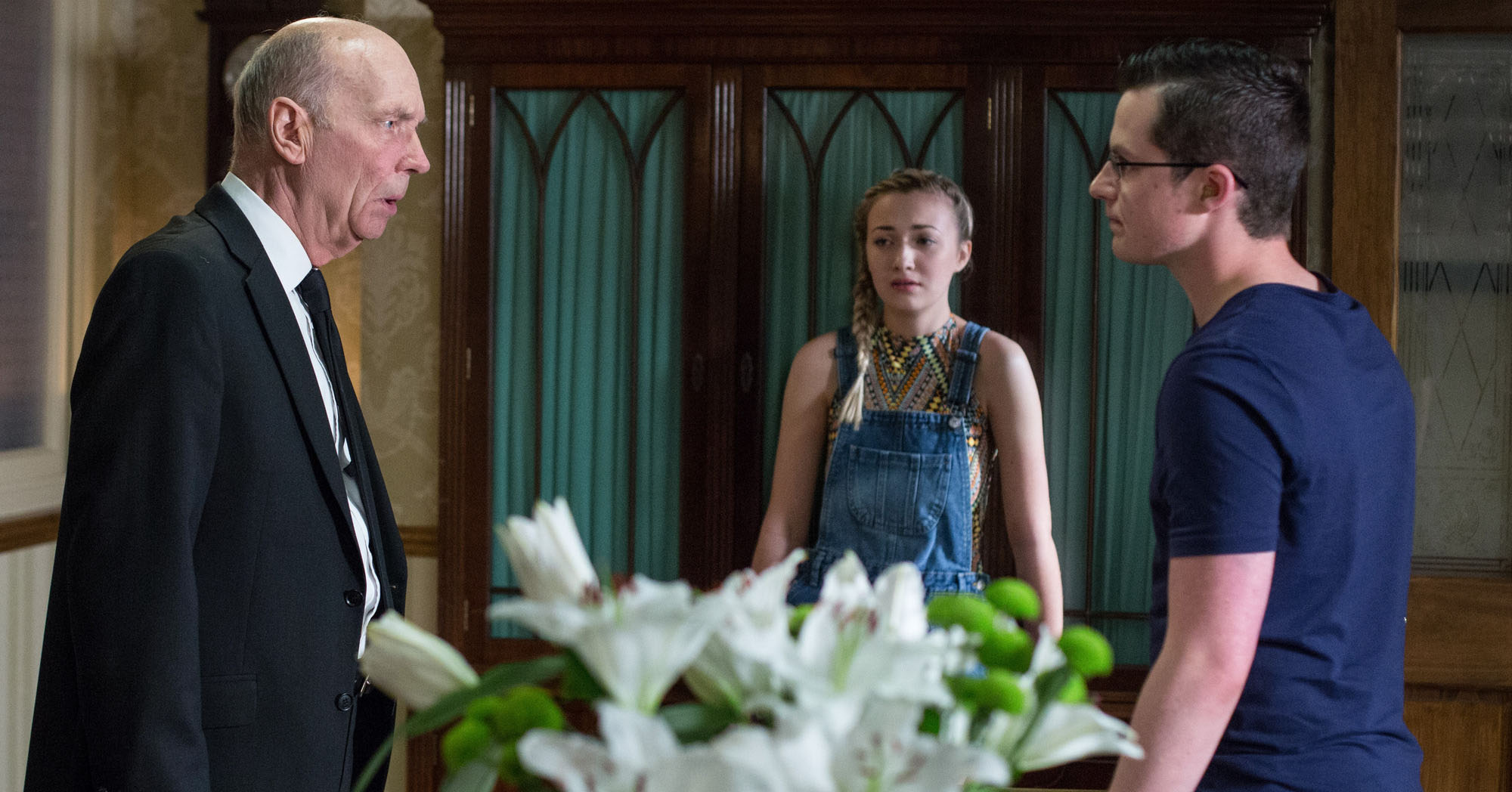 EastEnders Les Coker Ben Mitchell Louise Mitchell